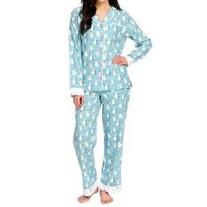munki munki Intimates & Sleepwear - | Snowman Pajamas